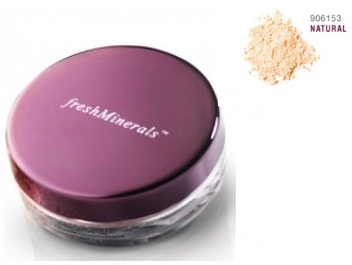 FreshMinerals Рассыпчатая пудра-основа с минералами Mineral Loose Powder Foundation  Natural, 11 гр.