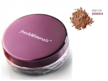 FreshMinerals Рассыпчатая пудра-основа с минералами Mineral Loose Powder Foundation   Georgia, 11 гр.