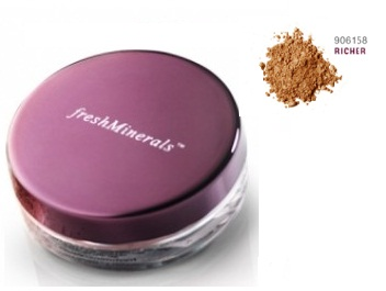 FreshMinerals Рассыпчатая пудра-основа с минералами Mineral Loose Powder Foundation  Richer, 11 гр.