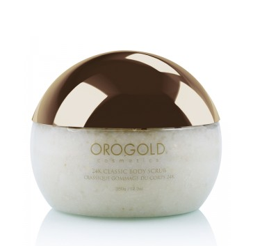 Oro Gold Cosmetics  24К White Gold Скраб для тела, 350 гр.
